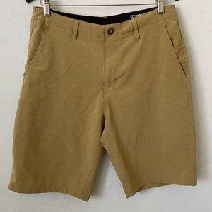 Volcom Tan Hybrid Surf & Turf Cargo Shorts